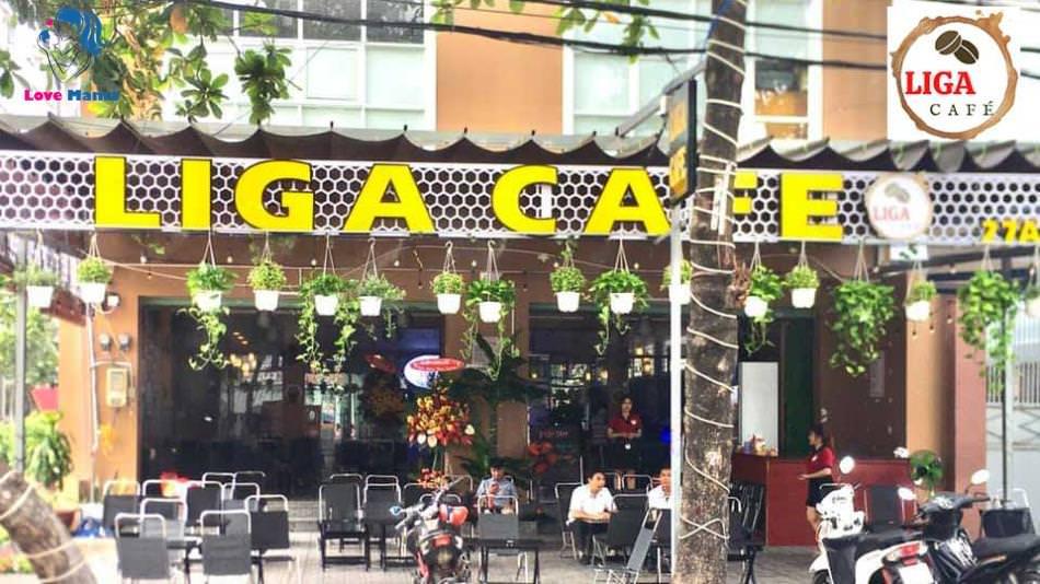 [Chia sẻ] quán Cafe Liga địa điểm thư giãn giá rẻ không gian đẹp