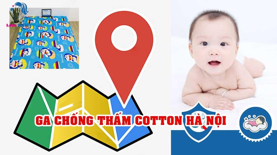 Điểm mua ga chống thấm Cotton ở Hà Nội khu vực Miền Bắc tốt nhất