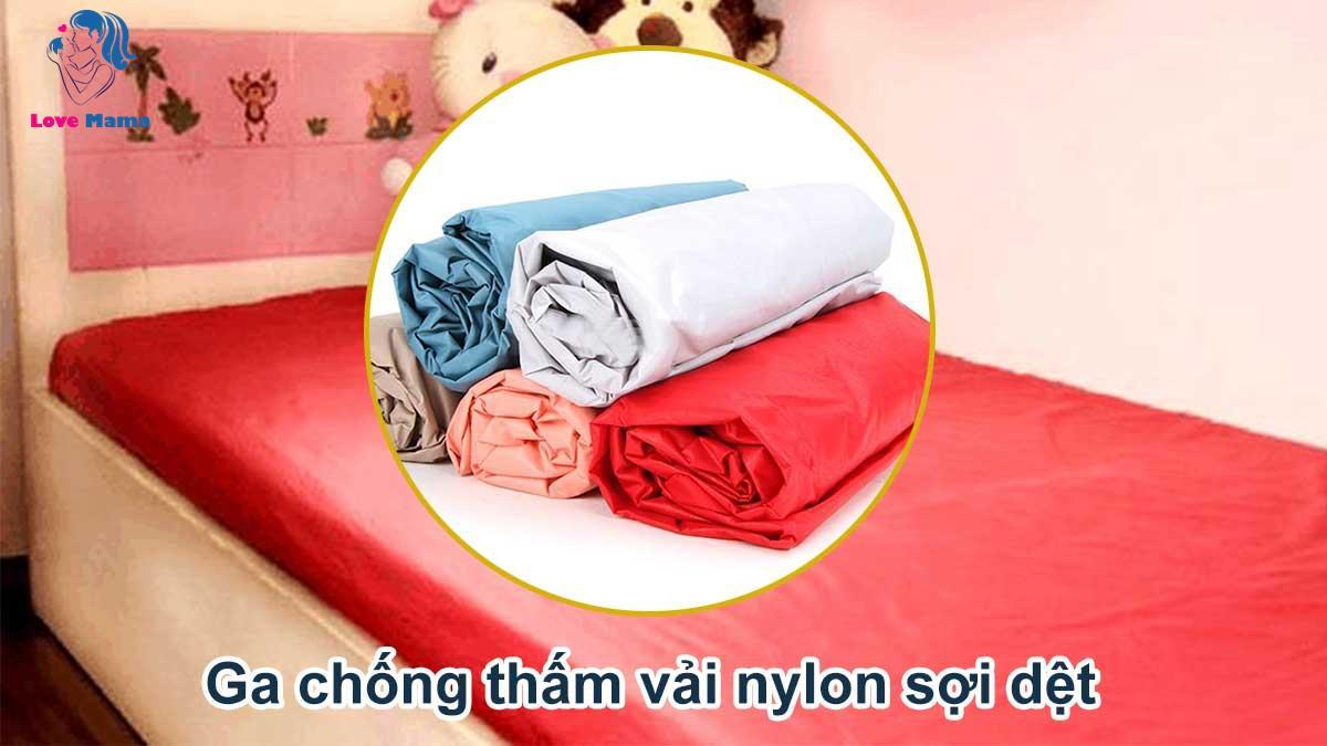 Ga chống thấm vải nylon sợi dệt
