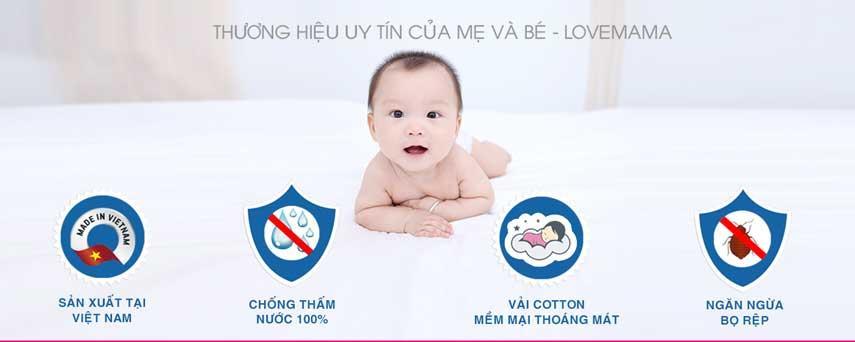 LoveMama thương hiệu của mẹ và bé
